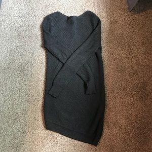 Dresses & Skirts - Grey Sweater Dress